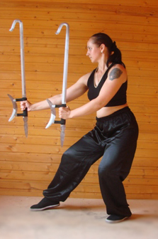 Обучение владению Традиционным Оружием (33 вида оружия)